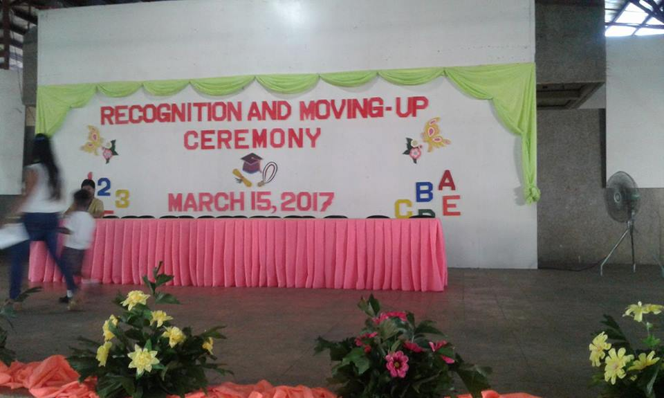 Day Care Children Recognition And Moving Up Ceremony